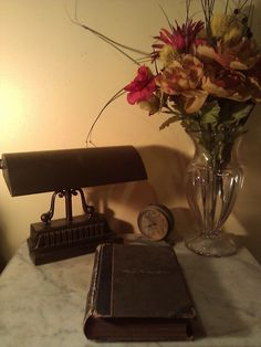 1930's Student Desk Lamp! Love this piece!