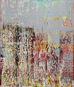 """Saatchi Art Artist Harry Moody; Painting, """"abstract with grey white ( #286 )"""" #art"""