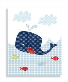 cuadro: ballena