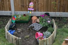 Plant a play garden for young kids to play, dig and take ownership of!