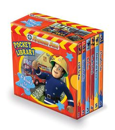 Buy Fireman Sam Pocket Library at Mighty Ape Australia. Contains six stories featuring Sam and the crew that race to rescue. Fireman Sam Toys, Fireman Party, Classic Books, Light Switch Covers, Little Man, Firefighter, Toy Chest, Mickey Mouse, Pocket