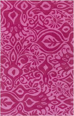 Buy the Surya undefined undefined Direct. Shop for the Surya undefined undefined Alhambra Hand Tufted New Zealand Wool Rug and save. Girls Rugs, Rugs Usa, Pink Rug, Contemporary Rugs, Wool Rug, Shag Rug, Pretty In Pink, Hot Pink, Area Rugs