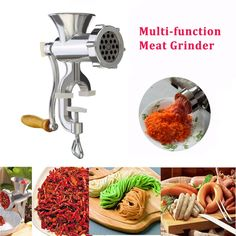 Cooking machine Multifunction Household  Aluminum Alloy Meat Grinder Noodles Grinding Food Processor