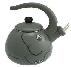 A teapot for people who loooooooooooooove elephants.