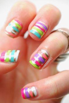 Victoria's Secret Bikini Nails!