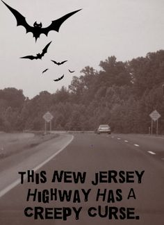 Haunted | Highway | Road | Ghosts | Scary | Creepy | Curse | New Jersey