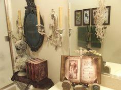 Haunted Mansion style bathroom
