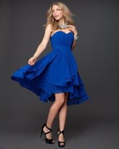 Bebe's new bridesmaid dresses. SO CUTE!