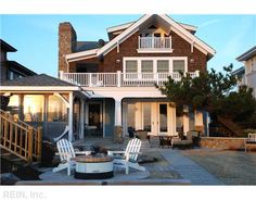 Lovely Beach Front House In Virginia Beach, Virginia Nice Design