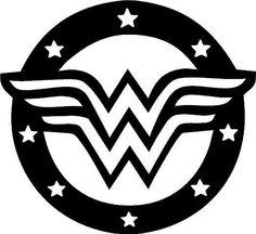 Wonder Woman Vinyl Sticker Wall Car Decal WOMAN car/truck/suv decal sticker