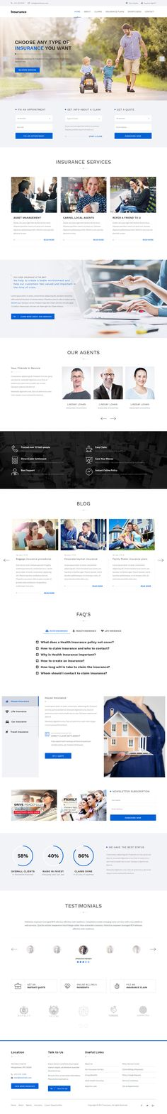 #Insurance is a graceful WordPress theme especially created for the insurance company, consulting, agency, independent auditor and trading company websites.