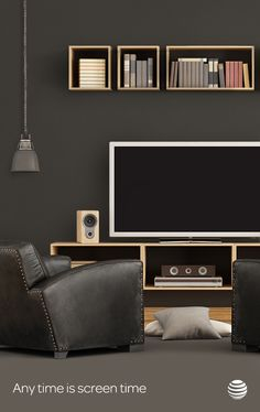Leather recliner? Check. 1080P flat screen HD TV? Check. Total connectivity to all the devices in your man cave? Go to ATT.com and check that off, too.