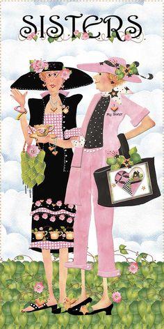 Sisters Pink & Black