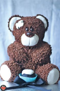 how to make a wilton teddy bear cake | In my mind, I knew exactly what I was going to do and I knew exactly ...