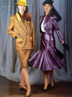 Fashion Photo, High Fashion, Womens Fashion, Corporate Fashion, Leather Fashion, Leather Outfits, Fashion Project, Future Fashion, Vintage Leather