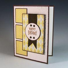 Happy Birthday Card / Masculine Birthday Card / by FallingCoconuts, $4.00