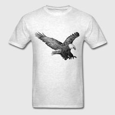 dynamitfrosch at Spreadshirt ✓ Trendy designs on different products ✓ T-shirts hoodies & accessories in many colours ✓ Order your favourite design from dynamitfrosch! Eagle Men, Hoodies, Mens Tops, T Shirt, Design, Fashion, Supreme T Shirt, Moda, Sweatshirts