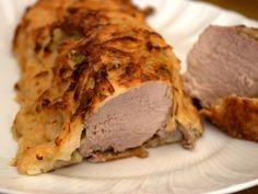 la gallina vintage: la Pasqua filetto di maiale in crosta di patate