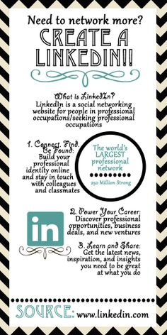 Helpful steps for creating a Linkedin. Social Networks, Social Media, Graduation Post, Career Success, Things To Know, How To Apply, Tips, Counseling