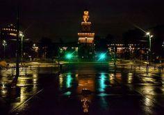 Buona serata a tutti Foto di Franco Brandazzi #milanodavedere Milano da Vedere