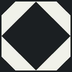 Dovetail Ink Black – Floor Tiles by Neisha Crosland for Harvey Maria Vinyl Tiles, Vinyl Flooring, Harvey Maria, Patterned Vinyl, Black Floor, Tile Floor, Ink, Dark Kitchens, Basement