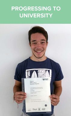 Jack completed his Level 3 Sports course and is now off to Uni!  Read his story here...
