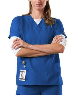 ScrubsUK offers a wide range of stylish medical scrubs, nursing uniforms and protective medical clothing. Cherokee medical scrubs are available in various colours and delivered fast, usually within two days. Embroidery is also available on our Cherokee Me Cherokee Scrubs, Medical Scrubs, Nursing Tops, Scrub Tops, V Neck Tops, Work Wear, Stylish, Red, Mens Tops