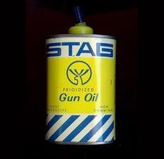 Stag Gun Oil. in Vintage