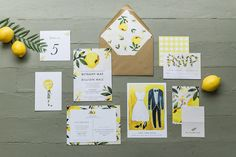 Spring & Summer 2018 Wedding Announcements by Huckleberry Paper Honeymoon Places, Seating Cards, Craft Wedding, Huckleberry, Envelope Liners, Yellow Wedding, Wedding Announcements, Vintage Vibes, Paper Goods