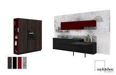 Carnavalul de la Venezia, care începe în 2 săptămâni, este inspirația noastră pentru un model de bucătărie dispusă pe doi pereți, mascată în accentul cromatic roșu regal și contrastul dintre lemn, metal și Fenix Nero Ingo. Configurația este compusă dintr-un grup de coloane ce adăpostesc cuptorul, frigiderul și cămara, și corpuri de bază completate cu unități suspendate pe perete, ce alcătuiesc zona activă de lucru, împărțite în unități de depozitare individuale cu sertare, polițe sau uși... Design