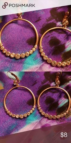 Earrings With light blue stones Jewelry Earrings