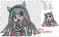 Rochelle Goyle cross stitch pattern