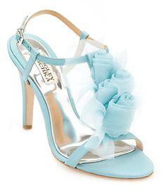 Cobalt Blue Strappy Heels