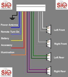 pioneer stereo wiring diagram cars trucks pinterest diagram rh pinterest com pioneer stereo wire diagram pioneer stereo wiring diagram