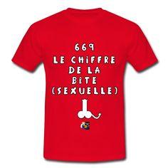 Mon T-shirt pour diablotins coquins : 669 LE CHIFFRE DE LA BÊTE (SEXUELLE)  Voir les différents modèles : https://shop.spreadshirt.fr/jeux-de-mots-francois-ville/130161015?q=I130161015  Dans ma boutique, découvrez d'autres T-shirts démoniaques : https://shop.spreadshirt.fr/jeux-de-mots-francois-ville/diable  #tshirt #humour #bête #drôle #666 #érotique #FrancoisVille #démon #démoniaque #geek #mal #JeuxdeMots #bite #citation #mâle #amour #love #sexe #satan #diable #sexy #hot #69 #bêtesexuelle…