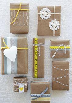 Egyszerű csomagolópapír extrákkal - Instant Life
