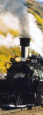 Silverton Colorado. took a train ride through the mountains to a old mining town.