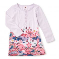 Hachi Henley Dress | Tea Collection