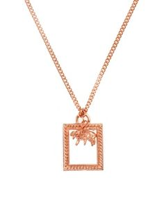 And Mary Flying Pigs Charm Necklace
