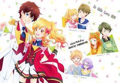 Couple in Aikatsu Stars!