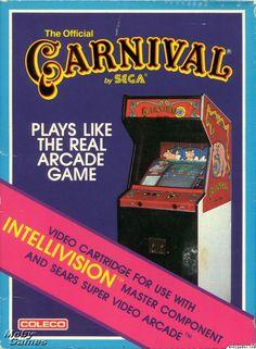 Carnival by Sega for Intellivision