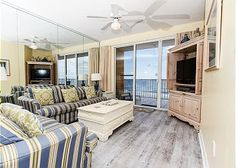 Beach front condos in FL! Save 15% on any stays in MAY (excl. Memorial Wknd) and 10% on all stays in August 2012! Rentals come with complimentary beach service, movie rentals, golf, dolphin cruises and Internet!