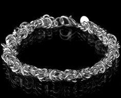 Bransoletka SREBRNA Figaro próba 925 Silver