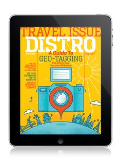 Cover illustration for Distro's 50th Issue