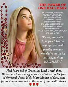 Hail Mary my mother in rosary world Rosary Prayer, Praying The Rosary, Holy Rosary, Rosary Catholic, Faith Prayer, God Prayer, Catholic Prayers, Catholic Doctrine, Christianity