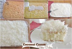 The Country Cook: Coconut Cream Poke Cake