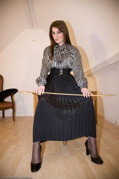 Silk Bow Blouse Mistress