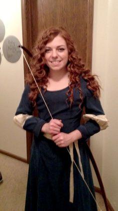DIY- Princess Merida (from Disney's Brave) Halloween Costume
