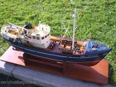 small fishing trawler | Nordkap Kit Model Boat