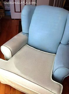 How to Paint Upholstery (Latex Paint and Fabric Medium) Painted soft chair-seriously? I mean, how comfortable will that chair be after a coat of latex paint on it? Painting Fabric Furniture, Paint Upholstery, Upholstered Furniture, Paint Furniture, Fabric Painting, Furniture Stores, Furniture Ideas, How To Paint Fabric, Furniture Makeover